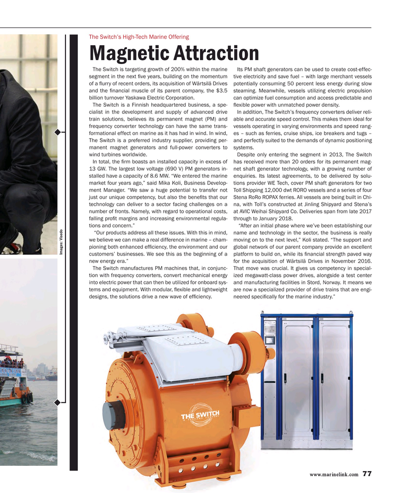 Maritime Reporter Magazine, page 77,  Mar 2017