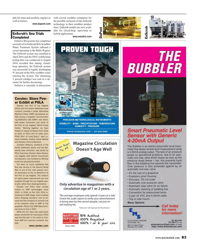 Maritime Reporter Magazine, page 83,  Mar 2017