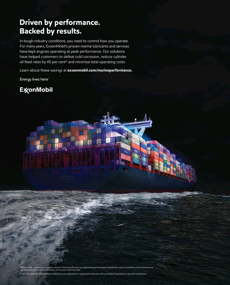 Maritime Reporter Magazine July 2017, 2nd Cover page