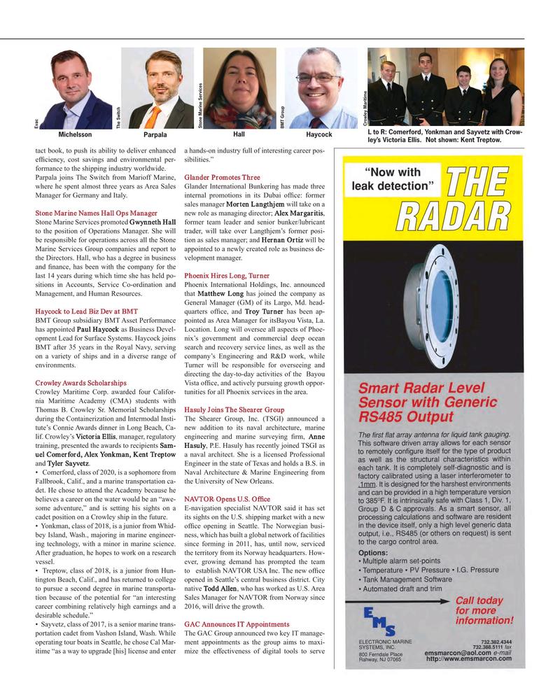 Maritime Reporter Magazine, page 83,  Oct 2017