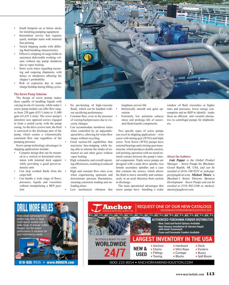 Maritime Reporter Magazine, page 113,  Nov 2017