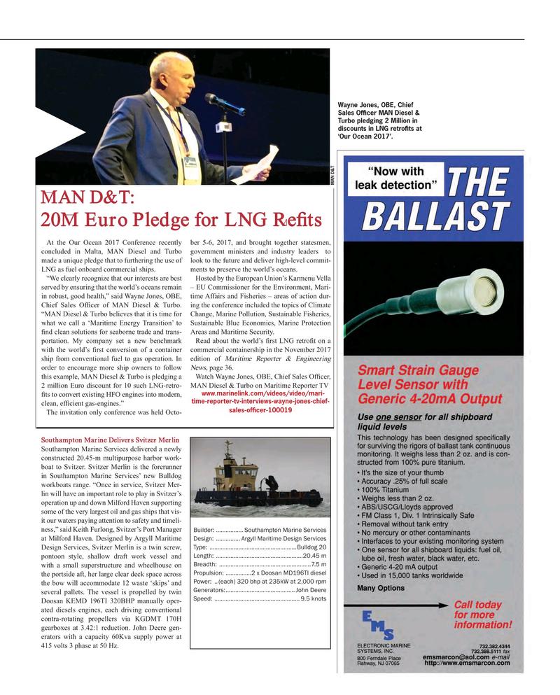 Maritime Reporter Magazine, page 117,  Nov 2017