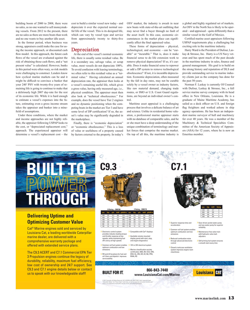 Maritime Reporter Magazine, page 13,  Nov 2017