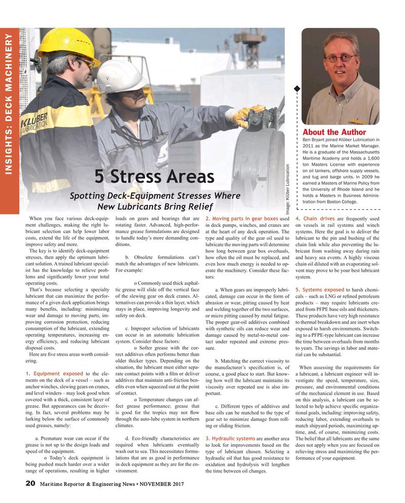 Maritime Reporter Magazine, page 20,  Nov 2017