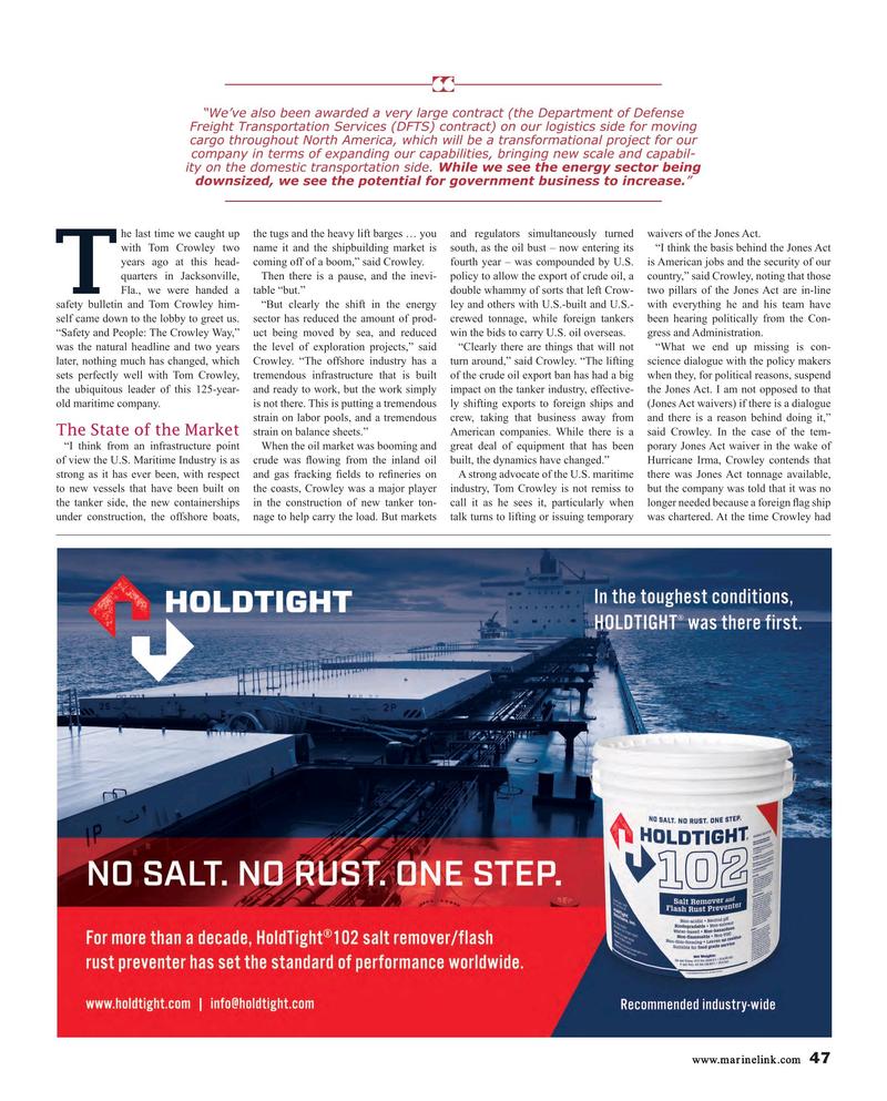 Maritime Reporter Magazine, page 47,  Nov 2017