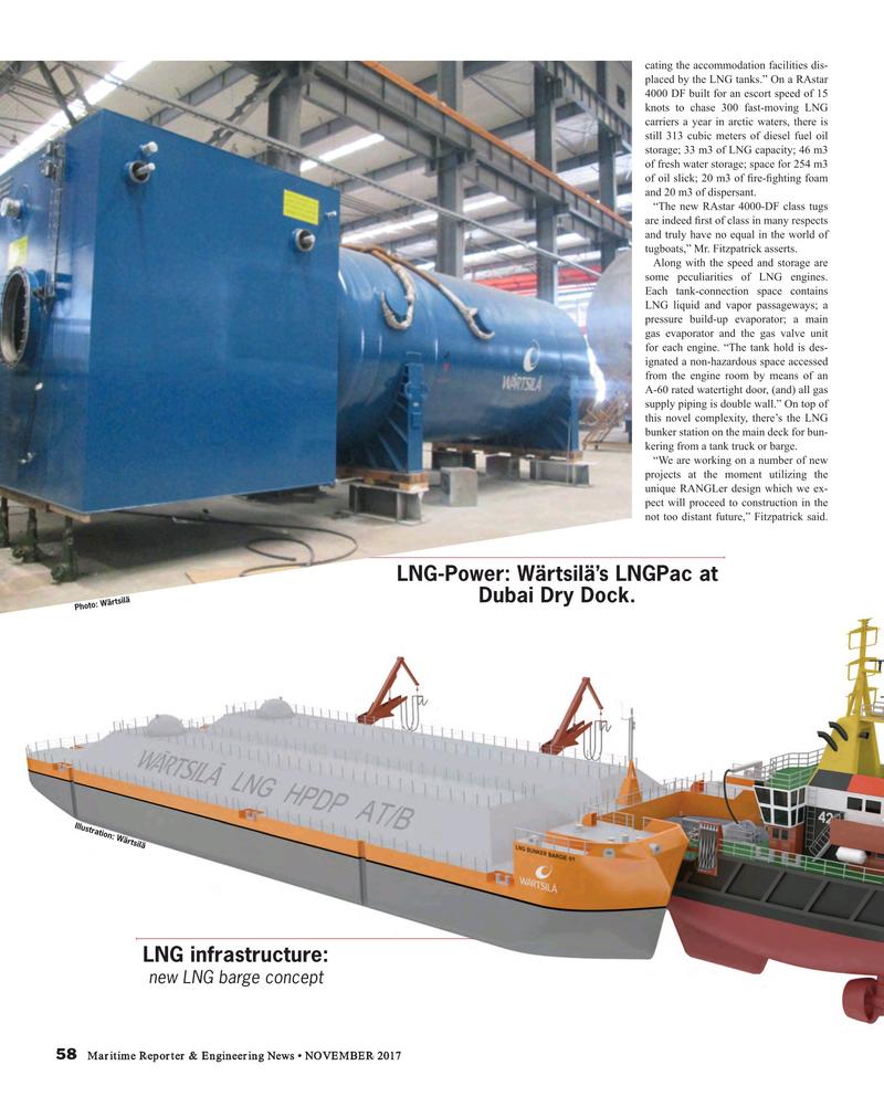 Maritime Reporter Magazine, page 58,  Nov 2017