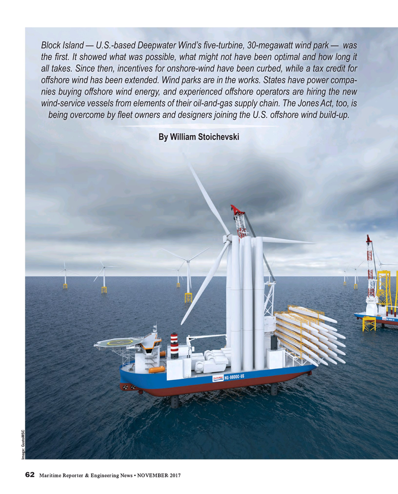 Maritime Reporter Magazine, page 62,  Nov 2017