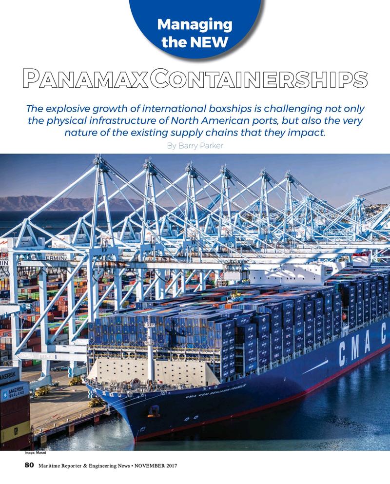 Maritime Reporter Magazine, page 80,  Nov 2017