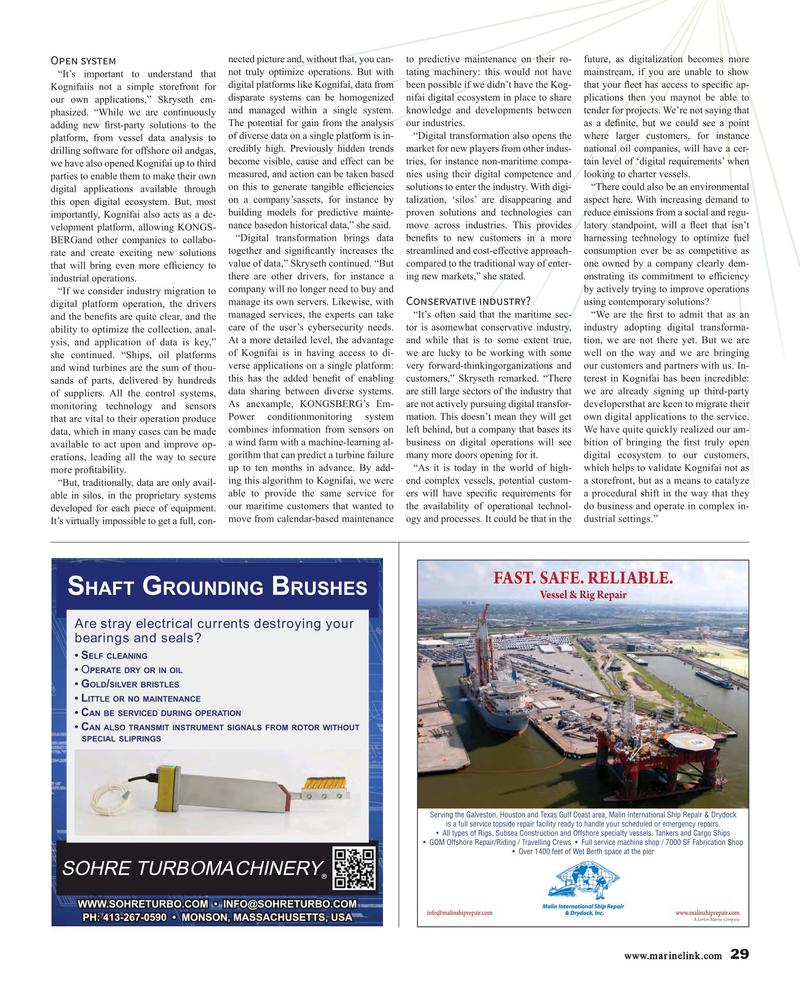 Maritime Reporter Magazine, page 29,  Dec 2017