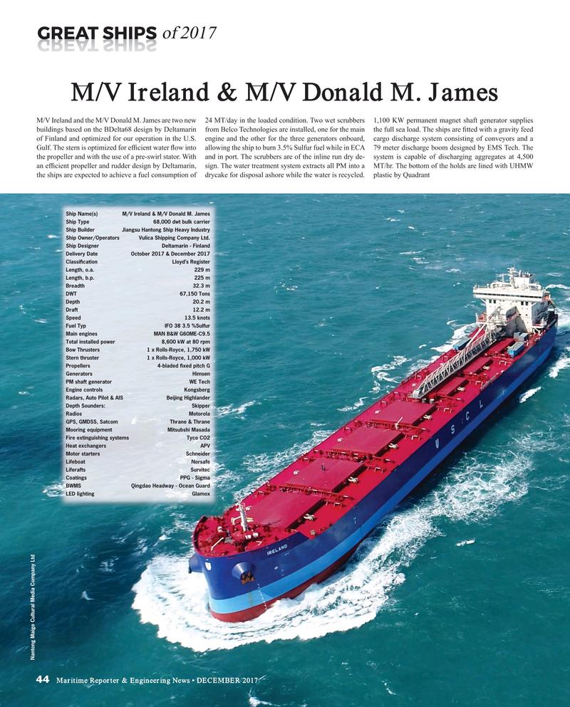 Maritime Reporter Magazine, page 44,  Dec 2017