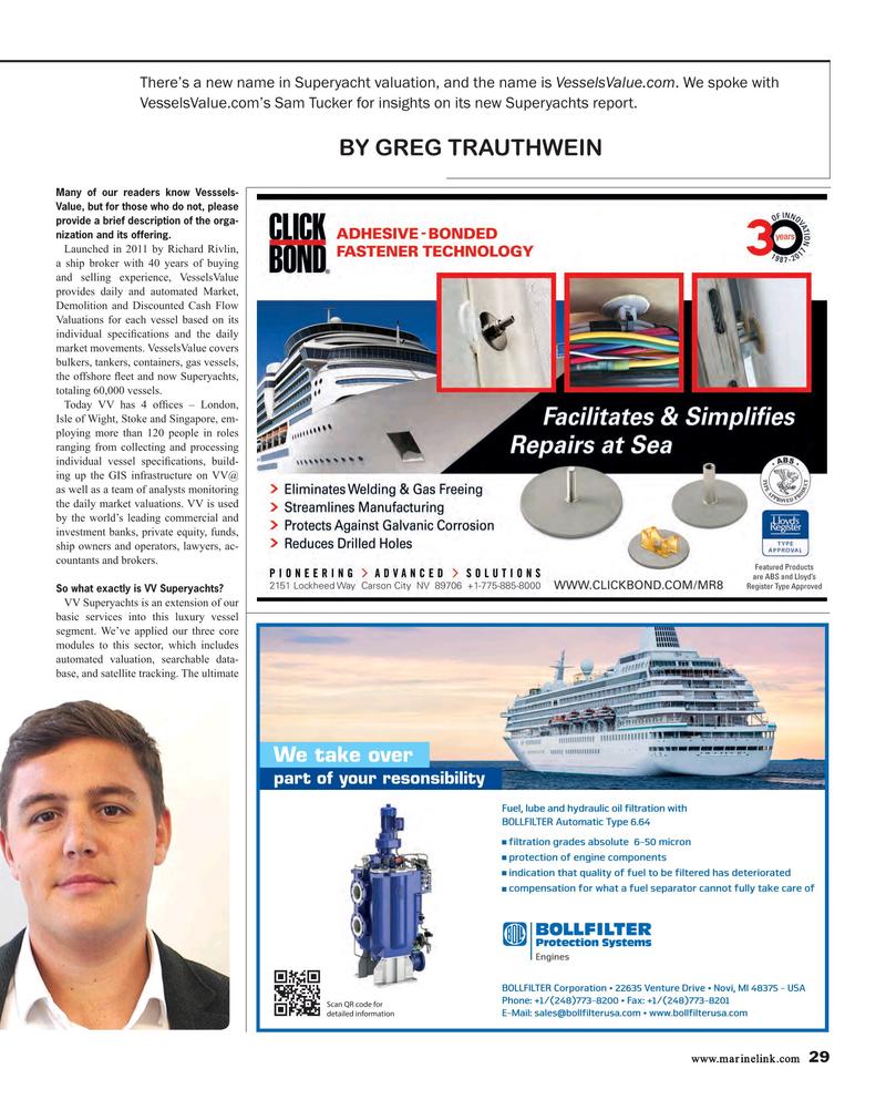 Maritime Reporter Magazine, page 29,  Feb 2018