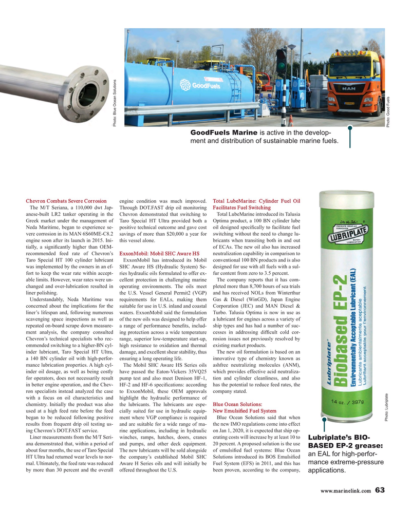 Maritime Reporter Magazine, page 63,  May 2018