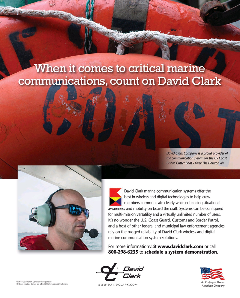 Maritime Reporter Magazine, page 5,  May 2018