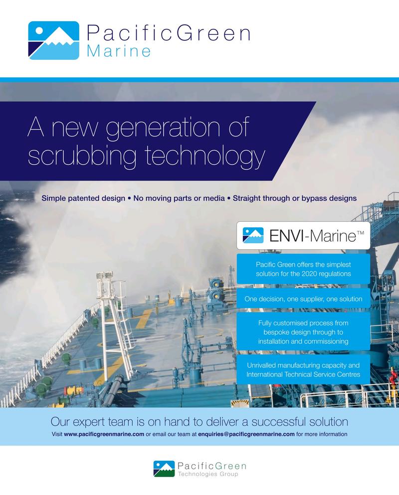Maritime Reporter Magazine June 2018, 4th Cover page