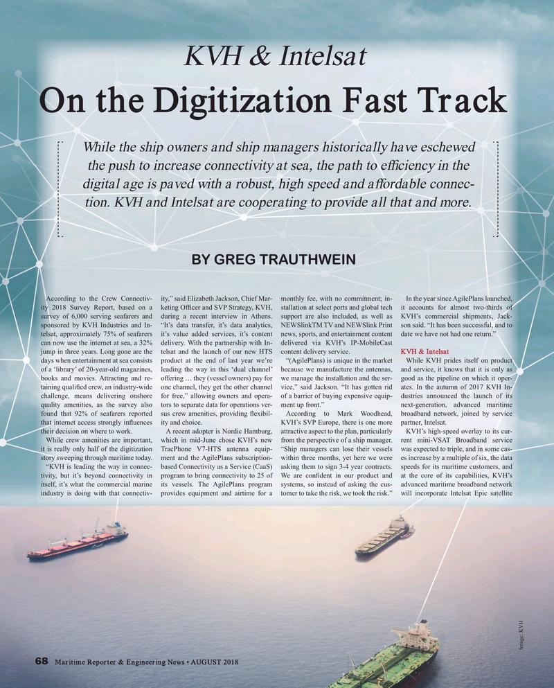 Maritime Reporter Magazine, page 68,  Aug 2018