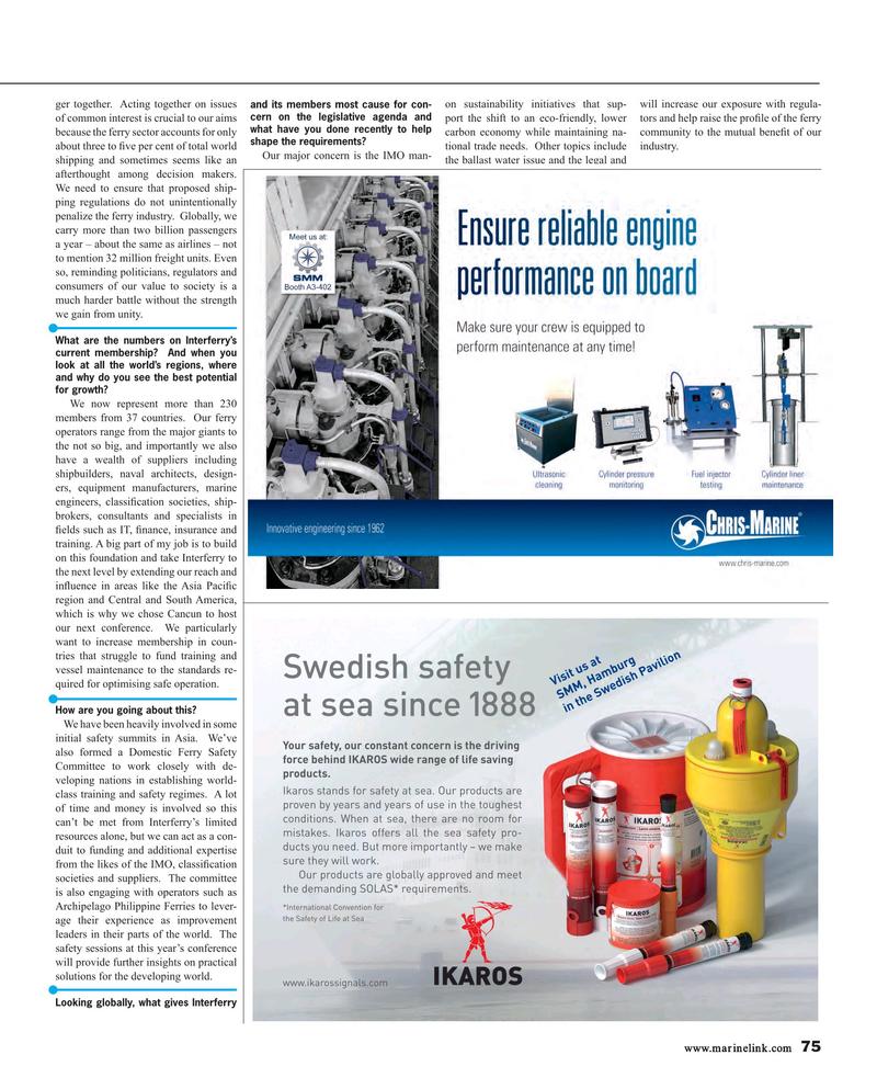 Maritime Reporter Magazine, page 75,  Aug 2018