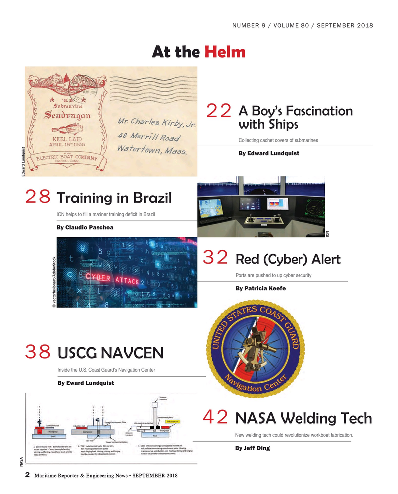 Maritime Reporter Magazine, page 2,  Sep 2018