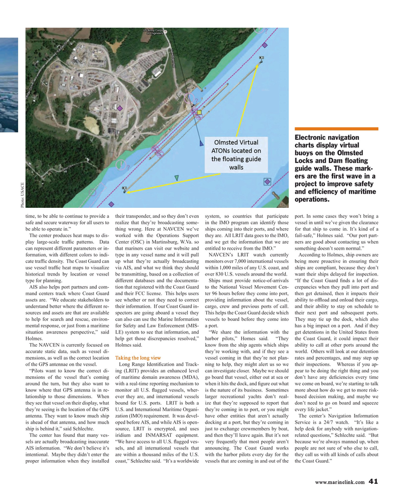 Maritime Reporter Magazine, page 41,  Sep 2018