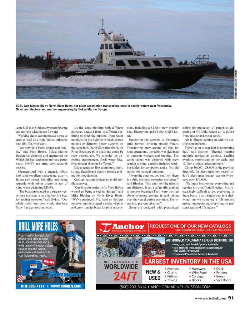 Maritime Reporter Magazine November 2018, 91 page