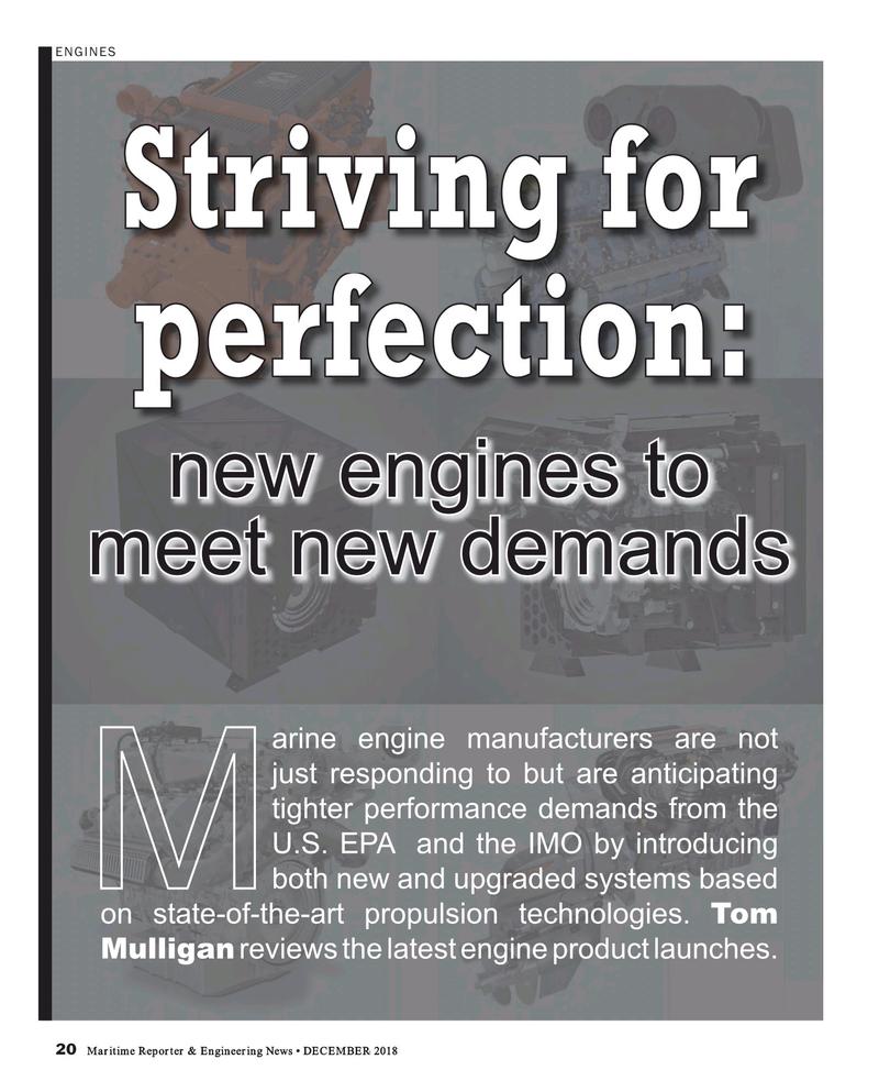 Maritime Reporter Magazine, page 20,  Dec 2018