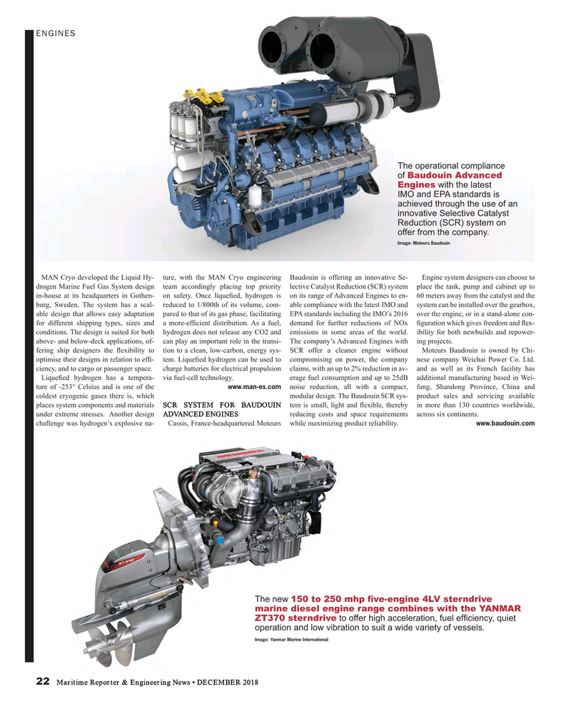 Maritime Reporter Magazine, page 22,  Dec 2018
