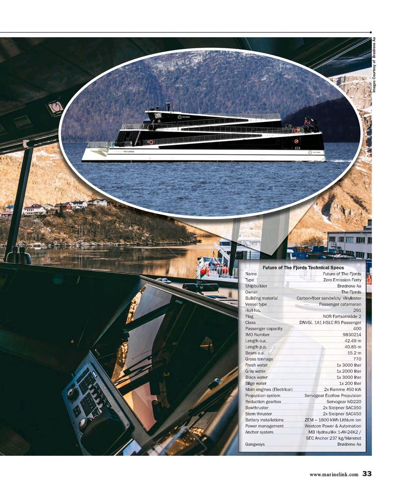 Maritime Reporter Magazine, page 33,  Dec 2018