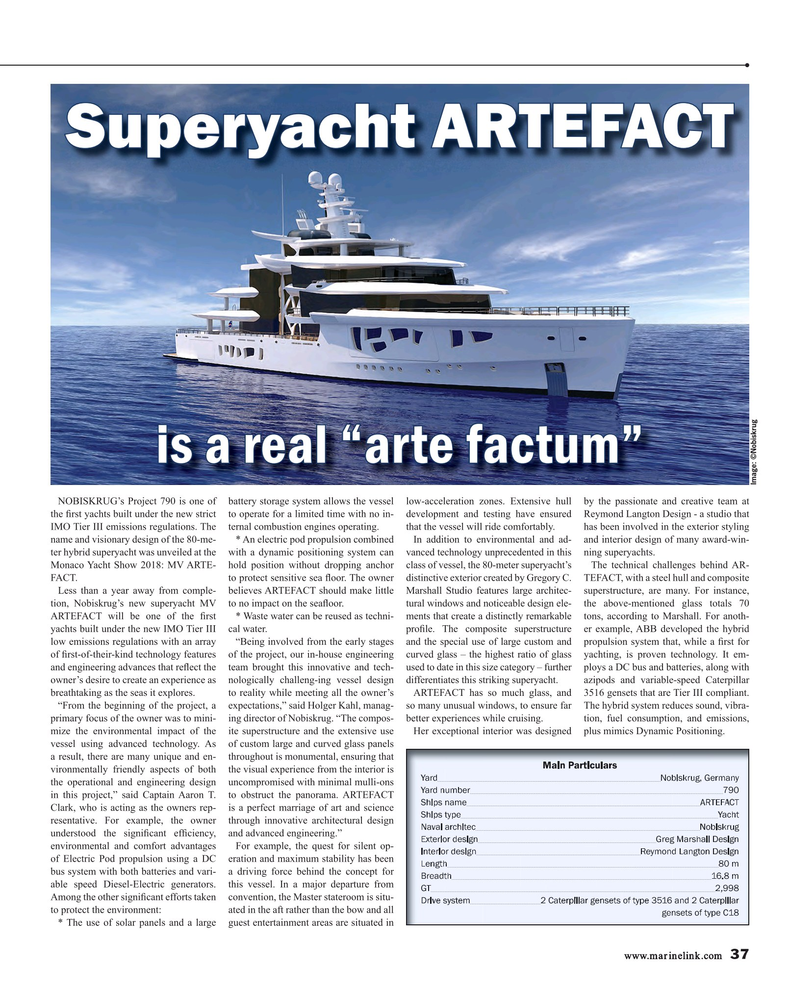 Maritime Reporter Magazine, page 37,  Dec 2018