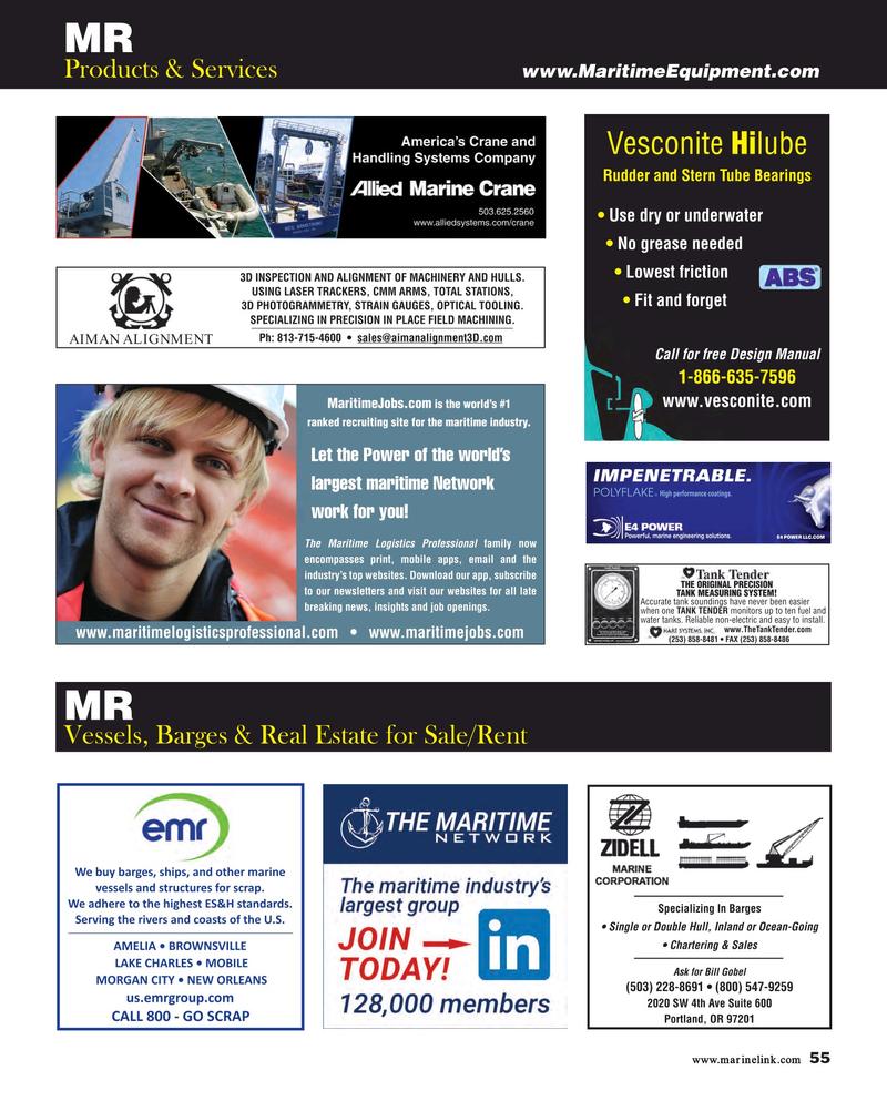 Maritime Reporter Magazine, page 55,  Dec 2018