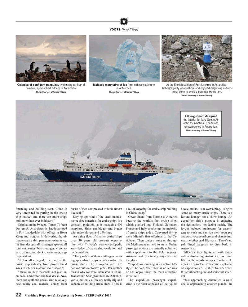 Maritime Reporter Magazine, page 22,  Feb 2019