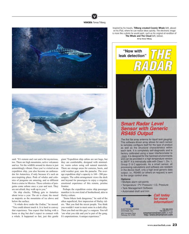 Maritime Reporter Magazine, page 23,  Feb 2019
