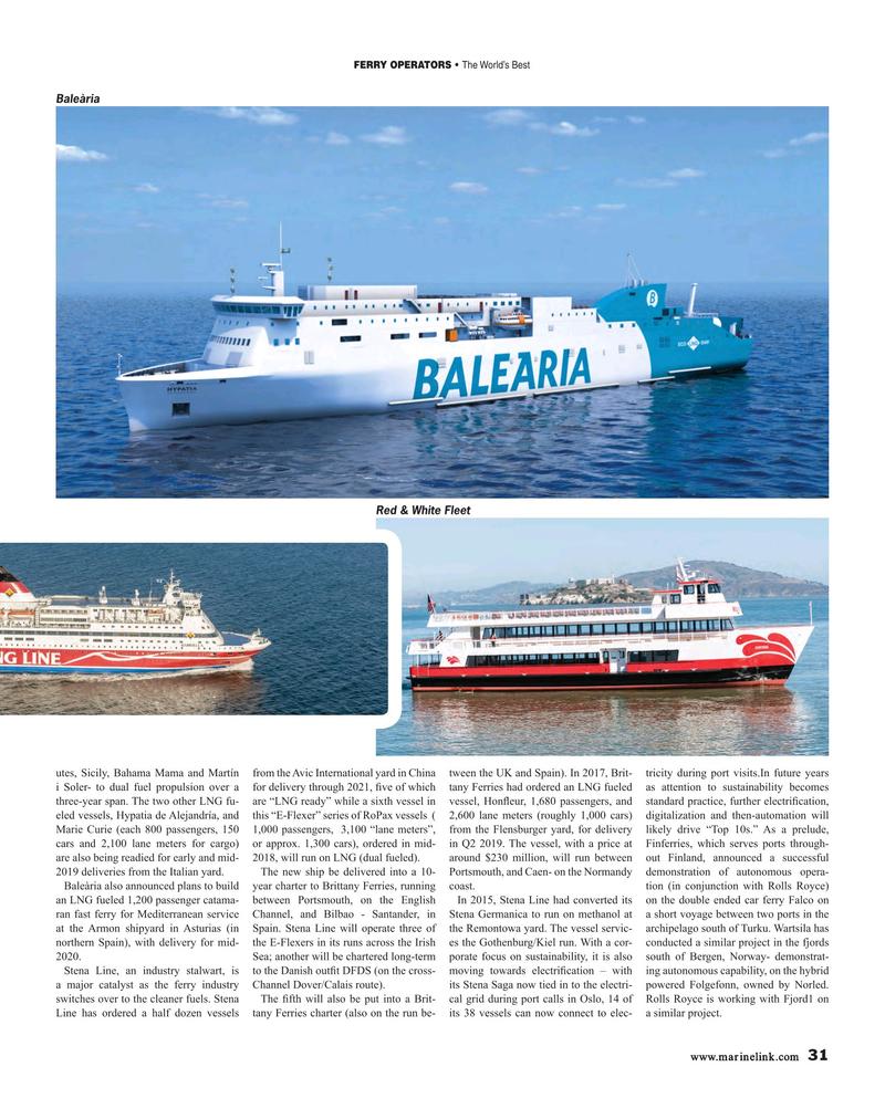 Maritime Reporter Magazine, page 31,  Feb 2019