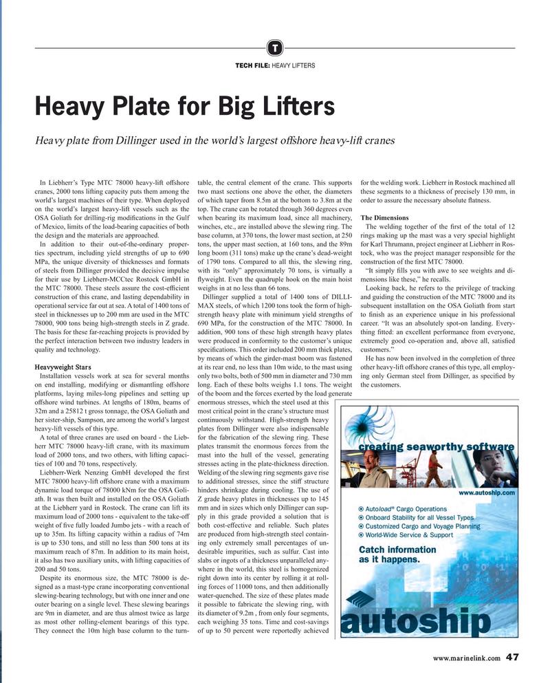 Maritime Reporter Magazine, page 47,  Feb 2019