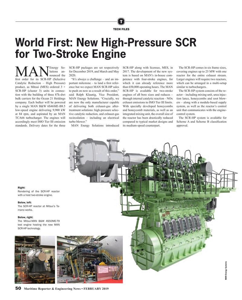 Maritime Reporter Magazine, page 50,  Feb 2019