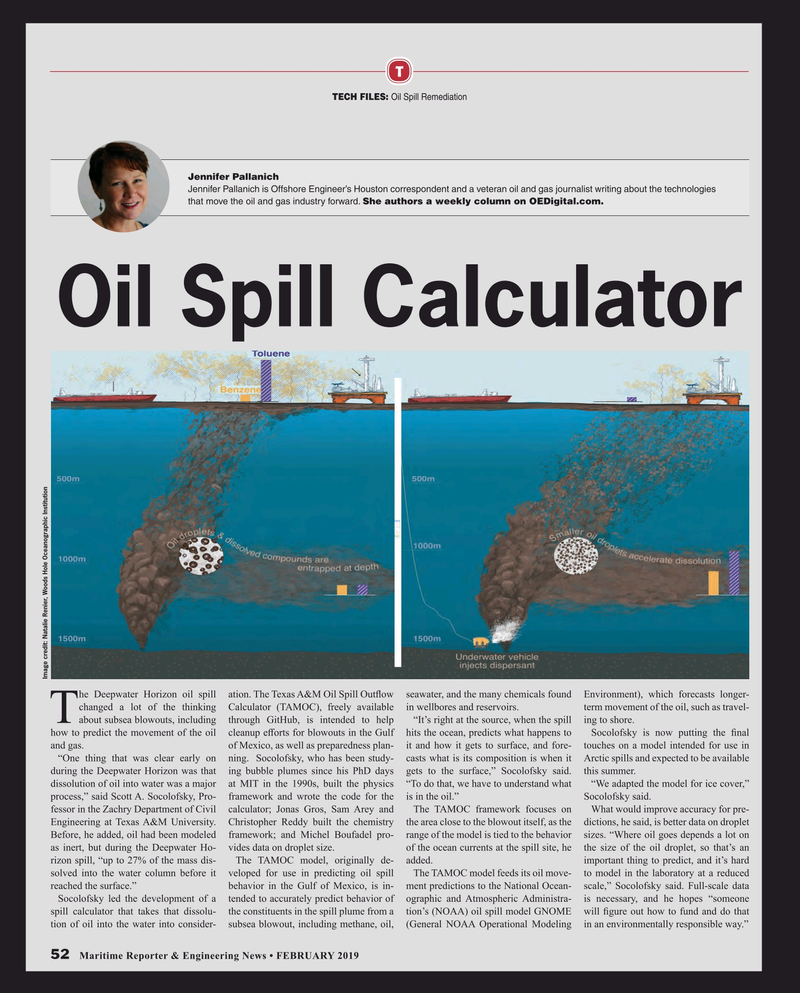 Maritime Reporter Magazine, page 52,  Feb 2019