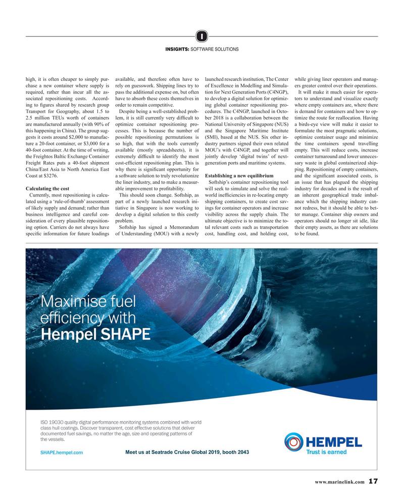 Maritime Reporter Magazine, page 17,  Mar 2019