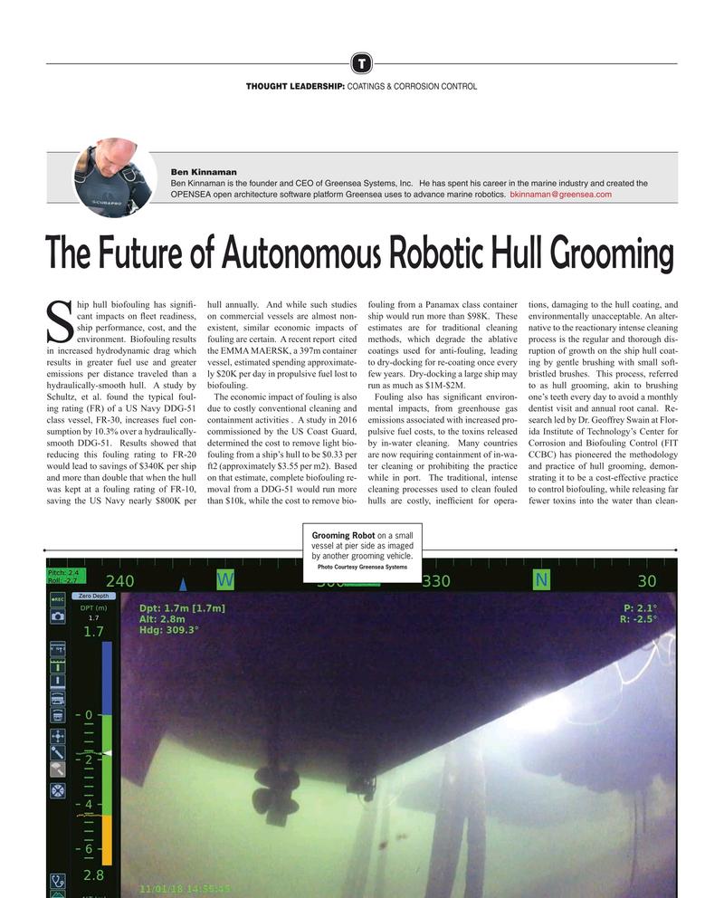 Maritime Reporter Magazine, page 20,  Mar 2019