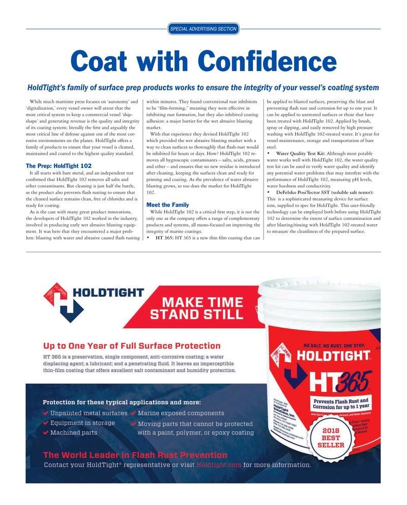 Maritime Reporter Magazine, page 23,  Mar 2019