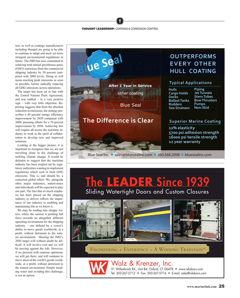 Maritime Reporter Magazine, page 25,  Mar 2019