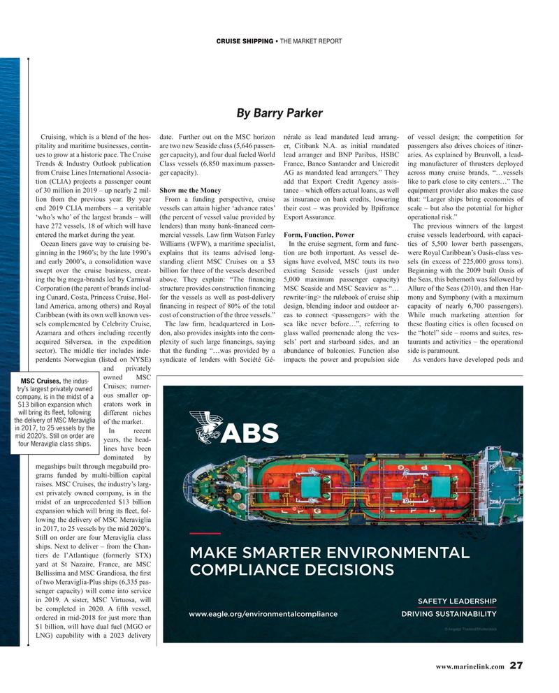 Maritime Reporter Magazine, page 27,  Mar 2019