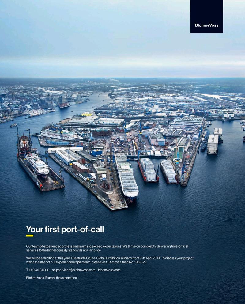 Maritime Reporter Magazine, page 1,  Mar 2019