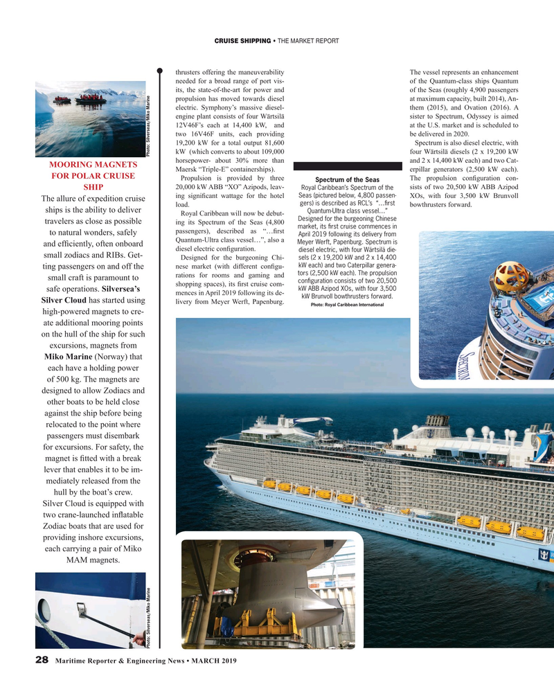 Maritime Reporter Magazine, page 28,  Mar 2019