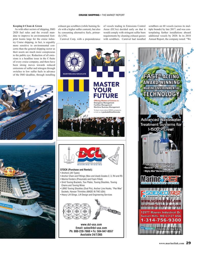 Maritime Reporter Magazine, page 29,  Mar 2019