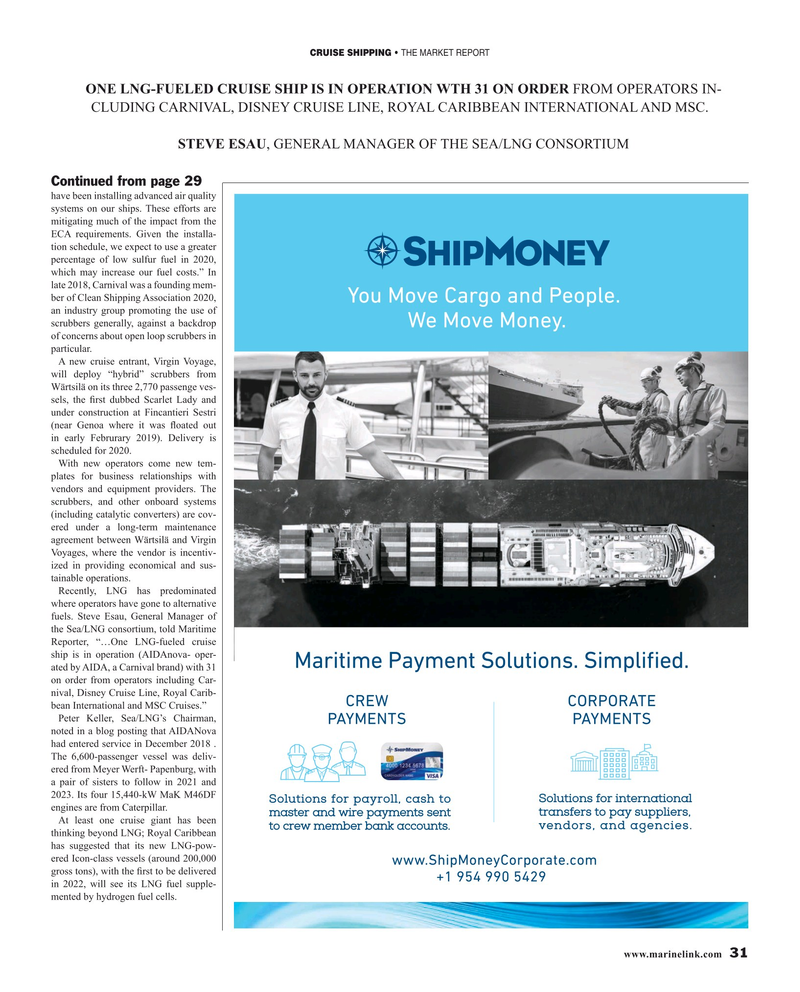 Maritime Reporter Magazine, page 31,  Mar 2019
