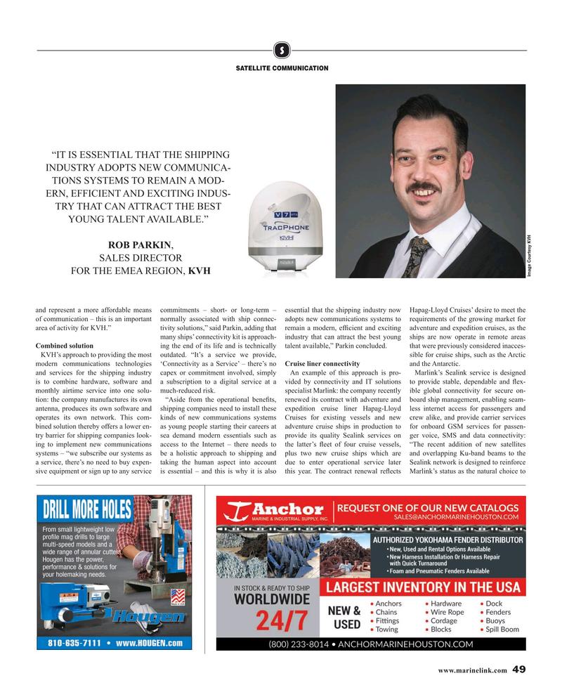Maritime Reporter Magazine, page 49,  Mar 2019