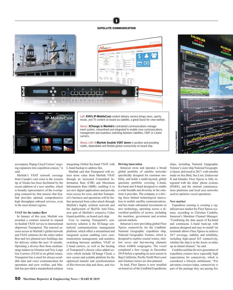 Maritime Reporter Magazine, page 50,  Mar 2019