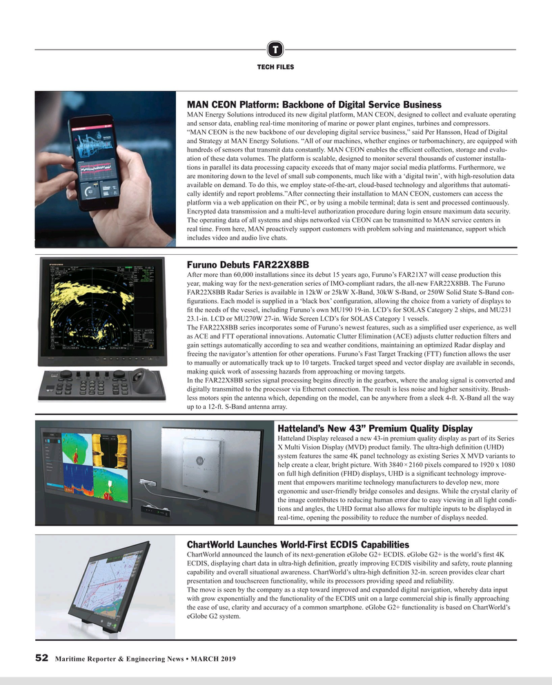 Maritime Reporter Magazine, page 52,  Mar 2019