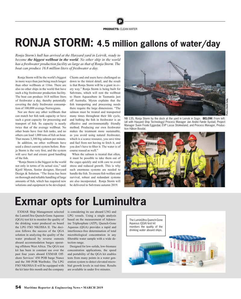 Maritime Reporter Magazine, page 54,  Mar 2019