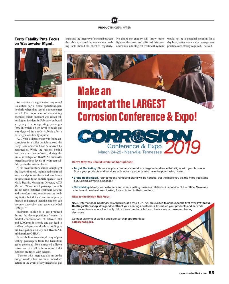 Maritime Reporter Magazine, page 55,  Mar 2019