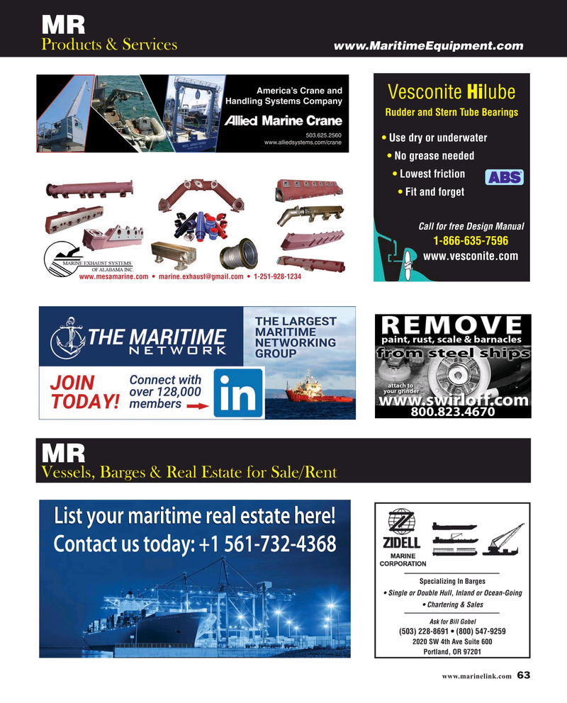 Maritime Reporter Magazine, page 63,  Mar 2019