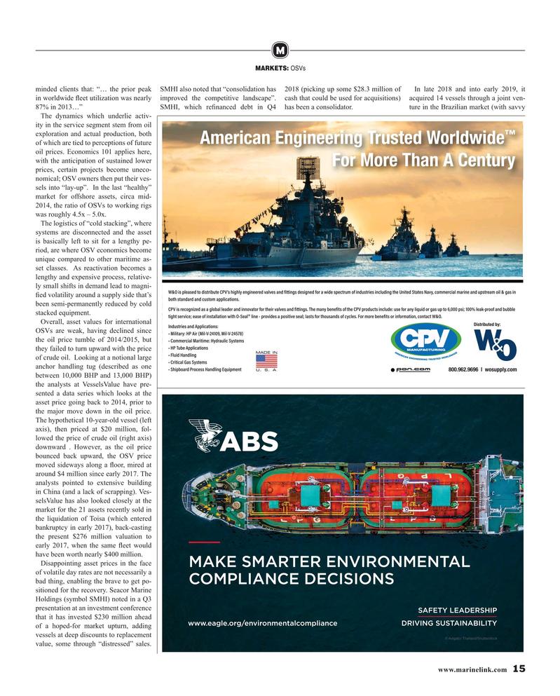 Maritime Reporter Magazine, page 15,  Apr 2019